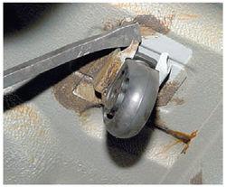 ремонт глушителя на Калине-8