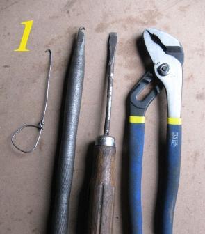 инструменты необходимые для замены задних колодок на автомобиле ваз 2109
