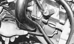 сливная пробка системы охлаждения двигателя автомобиля ваз 2114