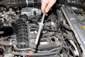 замена свечей зажигания на автомобиле лада приора9