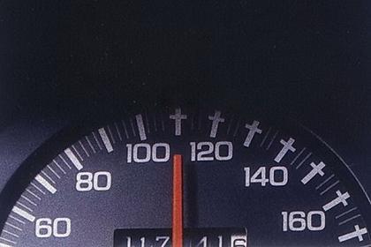 разрешенная скорость 110км